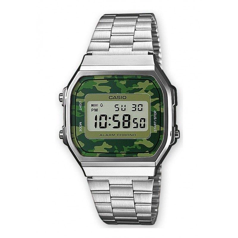 5b13d581c4b7 Ref. A168WEC-3EF Reloj Casio Unisex.