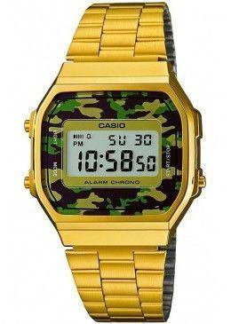 2add10b5382f Ref. A168WEGC-3EF Reloj Casio Unisex.