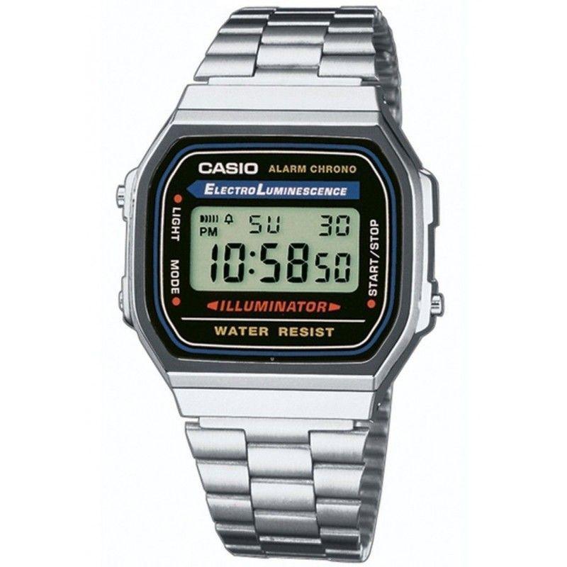 f5caf24b0081 Ref. A168WA-1YES Reloj Casio Unisex.