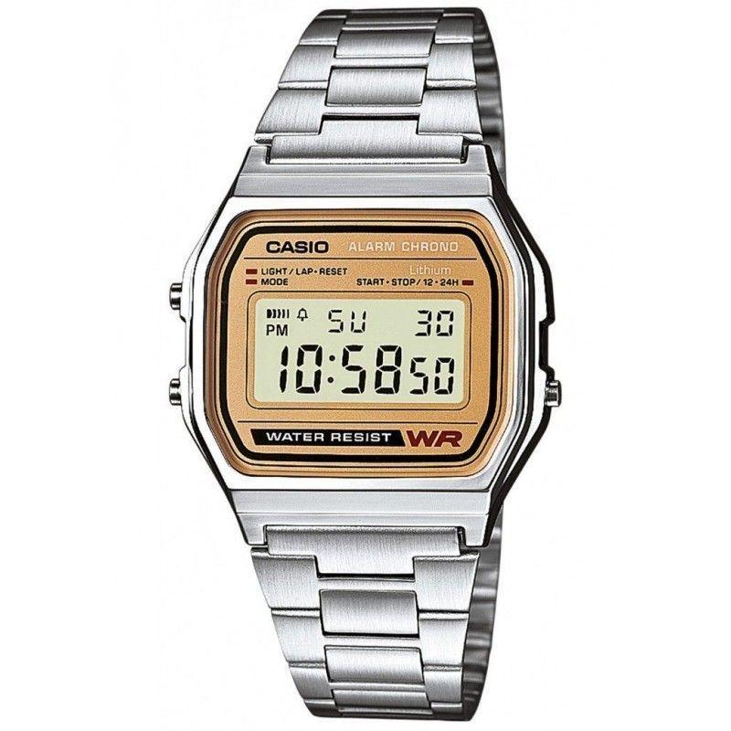 b08fd1b53ca1 Ref. A158WEA-9EF Reloj Casio Unisex.