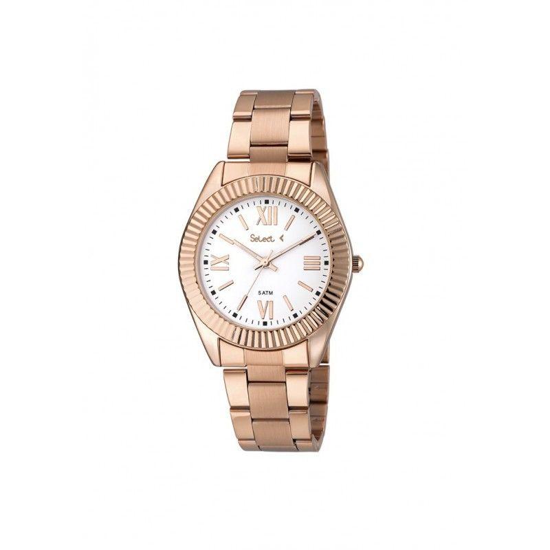 06c5defb77e5 TT-128-76 Reloj Select Unisex Rosé brazalete